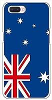 sslink OPPO R15 Neo ハードケース 国旗A-17 スマホ ケース スマートフォン カバー カスタム ジャケット