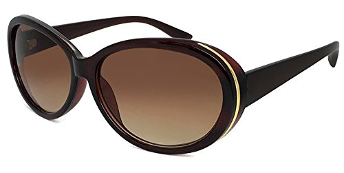 (PAGEBOY) サングラス py2617-2 ブラウン レディース オーバル型 UVカット 紫外線対策 py2617 ページボーイ 女性用