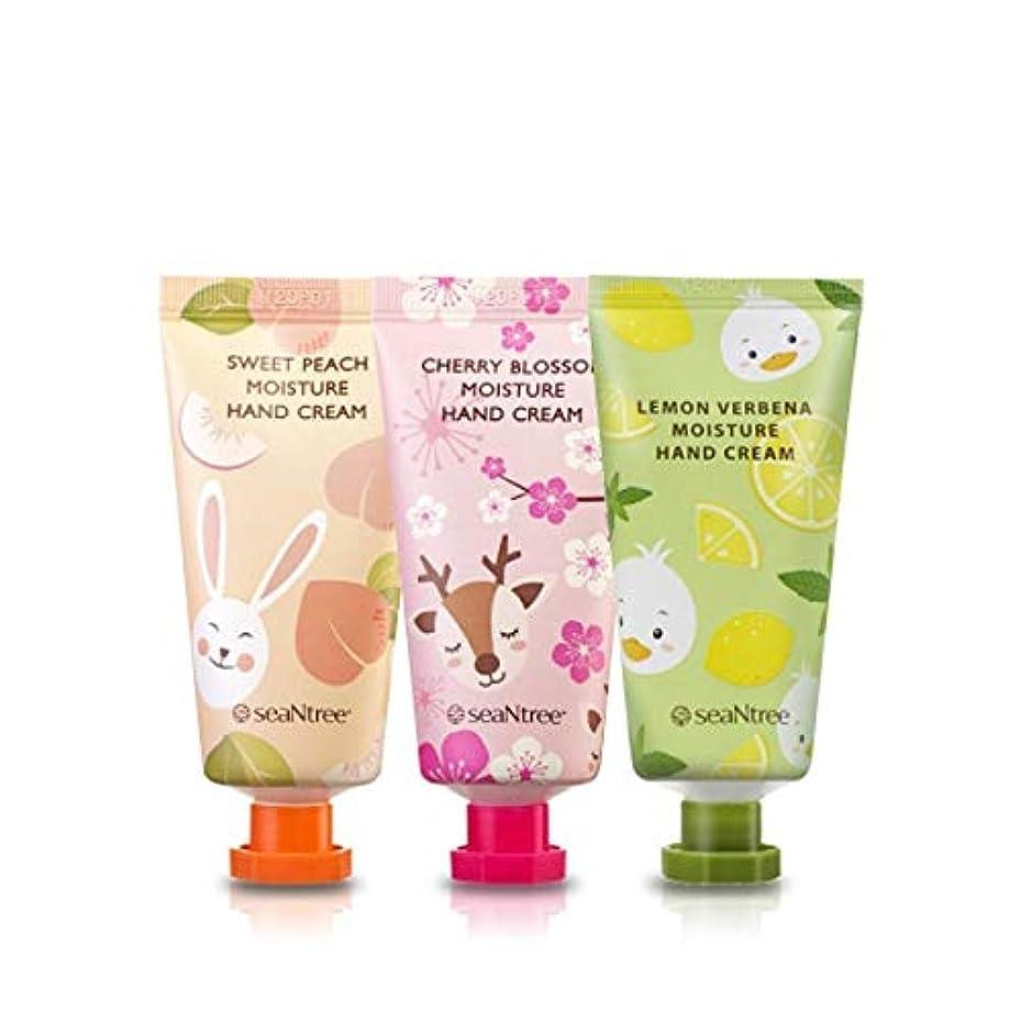 熱心な受け継ぐエラーseaNtree MOISTURE HAND CREAM モイスチャーハンドクリーム ベタつかず しっとりなめらかな 韓国 コスメ (LEMON VERBENA)