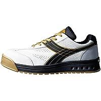ドンケル/ディアドラ DIADORA 安全作業靴 ピーコック 白/黒 25.0cm(3881644) PC12-250 [その他] [その他]