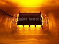"FidgetGear 36 LED 13""アンバートラフィック緊急レッカー車フラッシュルーフトップミニ警告ストロボ"