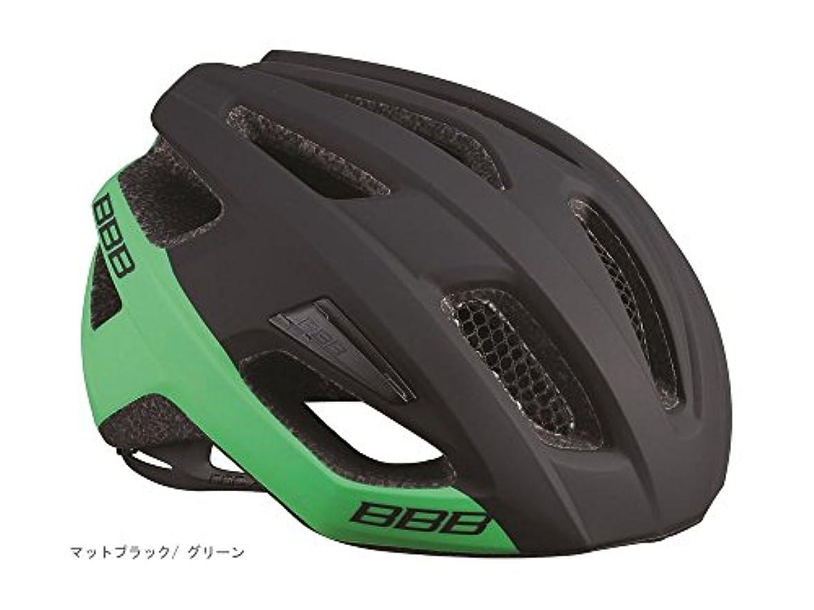 ご予約旅行代理店荷物BBB カイト ヘルメット BHE-29 M(52-58cm) マットブラック/グリーン 154340