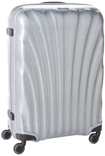[サムソナイト] Samsonite COSMOLITE / コスモライト スピナー 75  (75cm/94L/2.8Kg) (スーツケース・キャリーケース・トラベルバッグ・TSAロック装備・軽量・大容量・ファスナー・10年保証付・リニューアルタイプ) V22*00104 25 (シルバー)