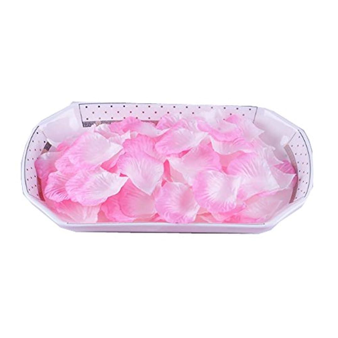 解明するバラ色三角形人工花びらの偽の花びら3000結婚式のセット