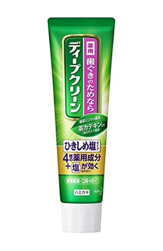 異形修理工病弱【花王】ディープクリーン 薬用ハミガキ ひきしめ塩 100g ×20個セット