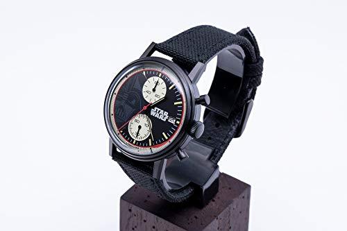 [アンダーン] 腕時計 スター・ウォーズ ダース・ベイダー アマゾン限定 SW-AL003 ブラック