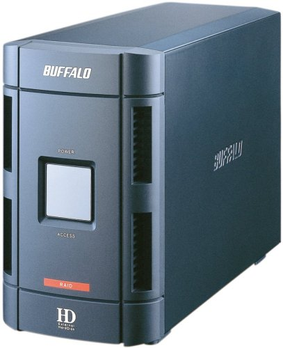 BUFFALO 2ドライブネットワークHDD Link Station 2T LS-W2.0TGL/R1
