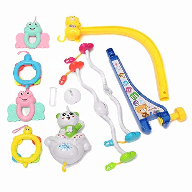 ラトル おもちゃ ベッド ぶら下げ メロディーズ ソング ベルキッド おもちゃ 電気オルゴール
