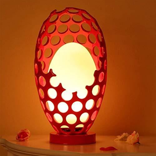 DAUUK 装飾的なテーブルランプ消灯ガールフレンドリビングルームベッドルームベッドサイドランプリビングルームベッドルームのためのデスクライトアンティーク亜鉛ベースの横に