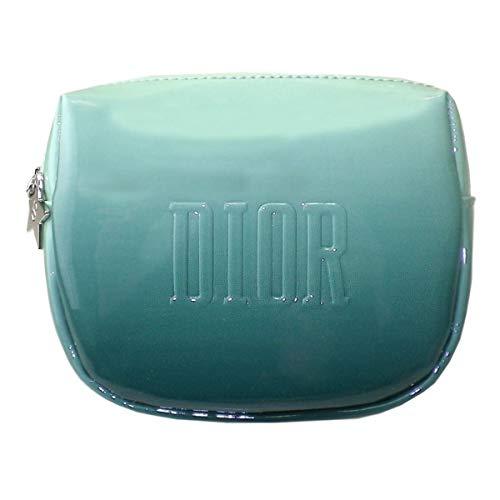 Dior ディオール ポーチ 小物入れ ロゴ 青 ブルー グラデーション 星 スター 海 爽やか 化粧 メイク コスメ