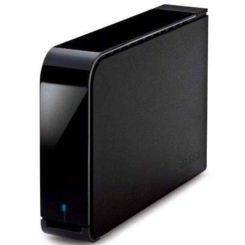 BUFFALO USB3.0/2.0用 外付けHDD 2TB ブラック HD-LB2.0TU3-BKD