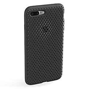 AndMesh Mesh Case for iPhone7 Plus ケース【Amazon限定】耐衝撃メッシュケース | ブラック 黒 | iPhone 7 Plus ケース AMMSC711-BLK
