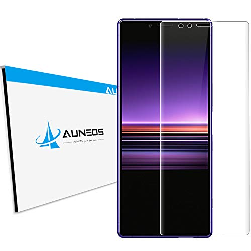 3D全面 AUNEOS Xperia 1 ガラスフィルム 全面保護 日本製旭硝子材 9H 強化ガラス