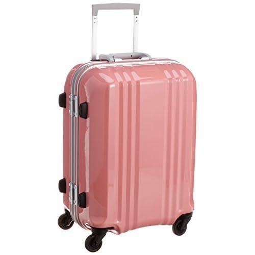 [エー・エル・アイ] A.L.I スーツケース デカかる2 /52cm 34L 3.2Kg 機内持込サイズ シリアルナンバー管理 TSAロック付 MM-5188 SPK (S-ピンク)