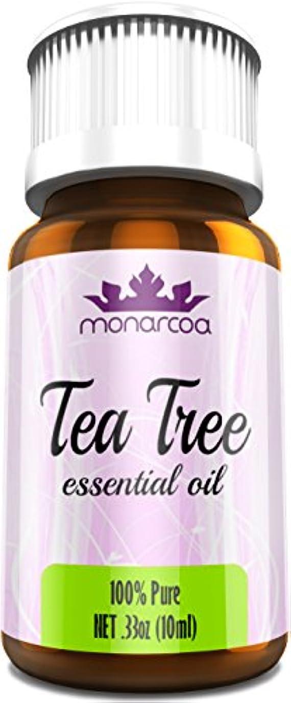 スタンド誓ううれしいMonarcoa Essential Oil Best Therapeutic Grade, Tea Tree, 10 ml by Monarcoa