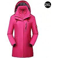 Tillyshop, Outdoor Jacket Men Waterproof,Couple Catching Fleece, Breathable, Warm, Wear Resistant,for Outdoor Mountaineering, Camping, Self-Driving, Rock Climbing, Skiing