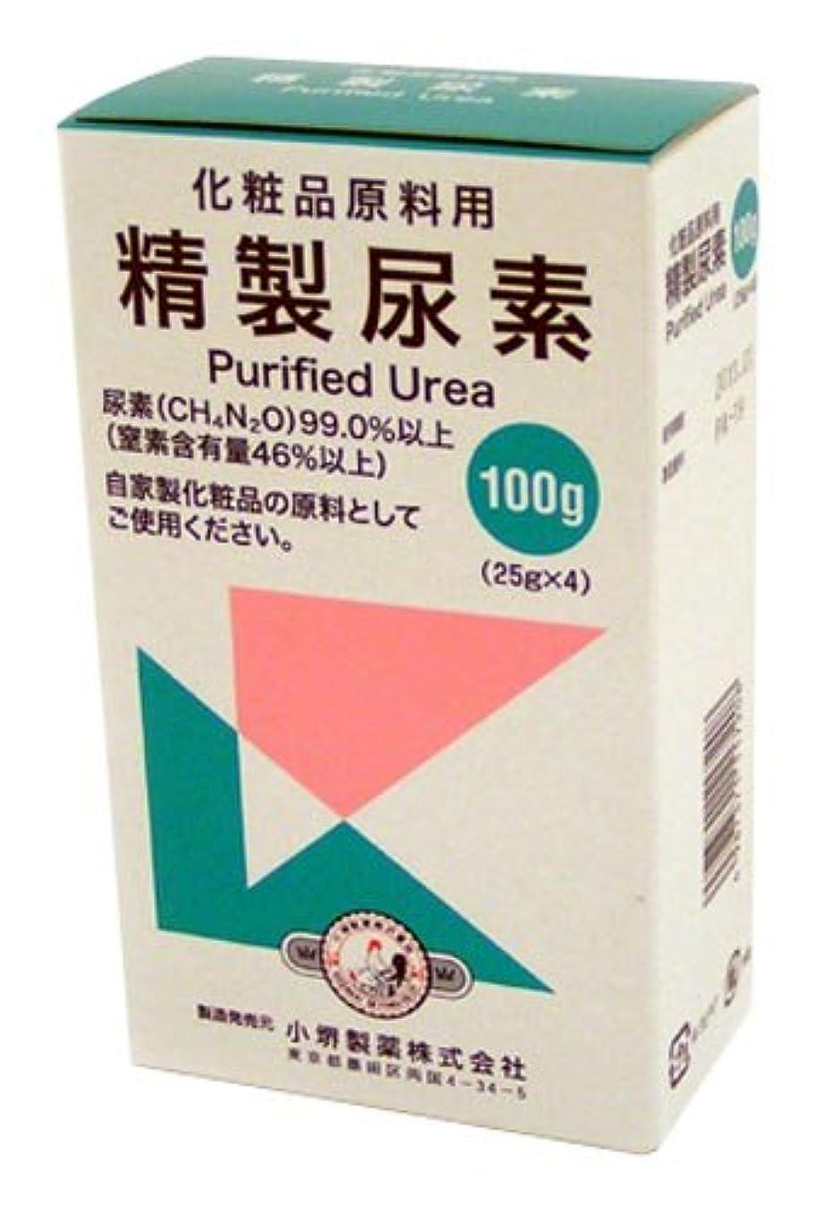 解明するけがをする優しい精製尿素 25g×4