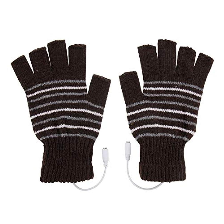 困難反論銀河BAJIMI 手袋 グローブ レディース/メンズ ハンド ケア アウトドアスポーツ電気加熱半指ニット耐久性のある手袋 裏起毛 おしゃれ 手触りが良い 運転 耐磨耗性 換気性