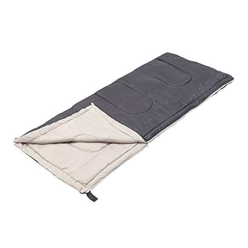 木製ストロークふりをするキャプテンスタッグ(CAPTAIN STAG) 寝袋 【最低使用温度12度】 封筒型シュラフ フォルノ 800 ダークネイビー M-3473