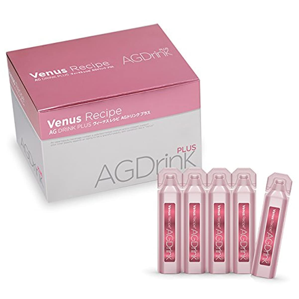 の配列緩やかな刻むアクシージア ヴィーナスレシピ AGドリンク プラス 600ml(20ml×30)