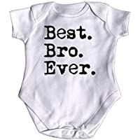 123t Funny Babygrow - Best Bro Ever Brother Baby Jumpsuit Romper Pajamas Novelty Newborn Presents Slogan Babygrows Gifts Christmas New Unique