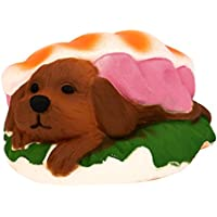 Slow Risingクリーム香りつきDecompression Kawaiiハンバーガー犬おもちゃスーパージャンボSquishy Stress Relief Toy