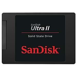 サンディスク SATA6Gbps対応 2.5インチSSD 480GBSanDisk Ultra II SDSSDHII-480G-J25C