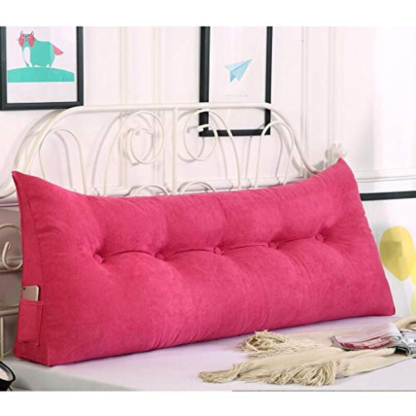 車調和海嶺ベッドサイドクッショントライアングルダブルソファビッグバックベッドソフトパックベッド枕リムーバブルベッドシンプル Hyococ (Color : C, Size : 120*50cm)