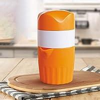 クリエイティブマニュアルジューサーホームレモン絞りジュースミニオレンジ絞りジューサージューサー小さなフルーツツール(黄色)