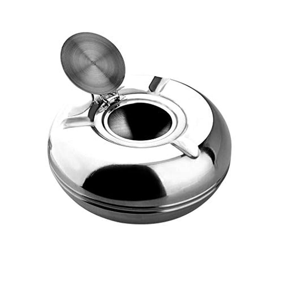 お風呂を持っているプロトタイプ樹皮JJSFJH タバコのための大きい円形の防風灰皿パティオのための屋外の灰皿家/オフィスのためのふたが付いている美しい卓上の煙のステンレス鋼の灰皿