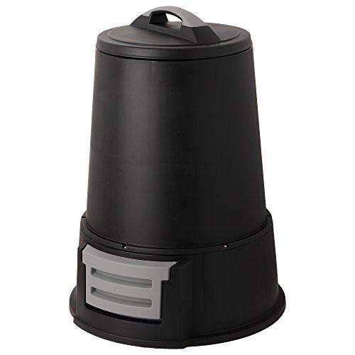 アイリスオーヤマ コンポスト エココンポスト IC-160 ブラック 幅約65×奥行約65×高さ約88.5