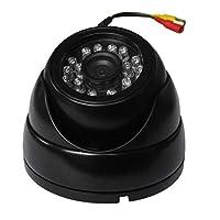 Funnyrunstore HA-AHD252黒1m / 1.3m / 2m HD 720p室内用屋外CCTVカメラ(Dvrセキュリティシステム監視用)PLA/NTSC(HA-AHD252-1M)