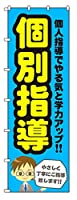 のぼりらんど のぼり旗 個別指導 H2700mm×W900mm ※受注生産品