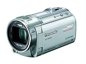 Panasonic デジタルハイビジョンビデオカメラ 内蔵メモリー32GB シルバー HC-V600M-S
