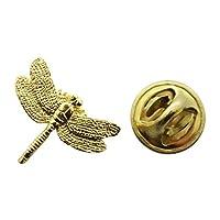 ドラゴンフライミニピン~ 24Kゴールド~ミニチュアラペルピン~サラのTreats & Treasures