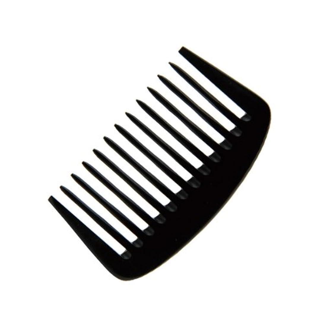 歯痛生産的喪エトゥベラ e-ーフムーンコーム K-8010 105mm (美容室用) 全2色ブラック