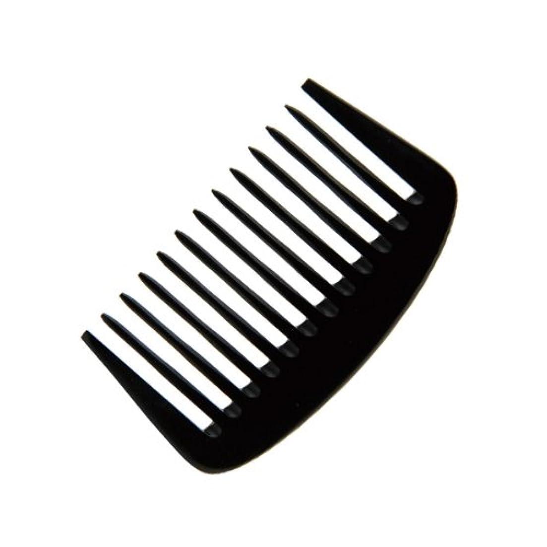 襟対称浴エトゥベラ e-ーフムーンコーム K-8010 105mm (美容室用) 全2色ブラック