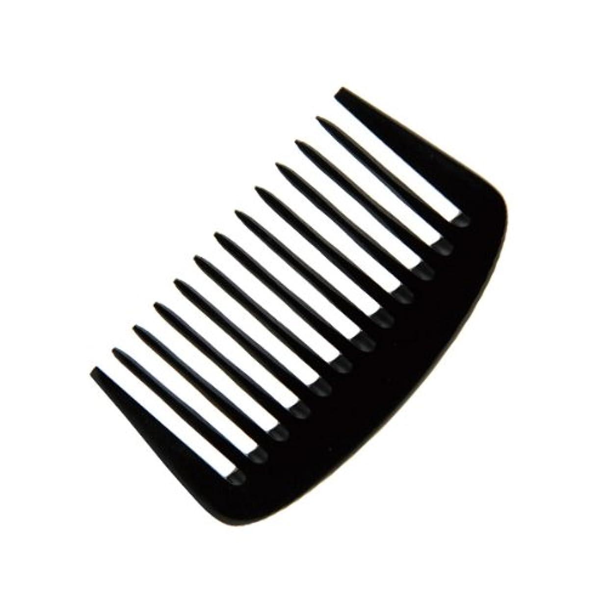 フォーカス気分が良いクラウンエトゥベラ e-ーフムーンコーム K-8010 105mm (美容室用) 全2色ブラック