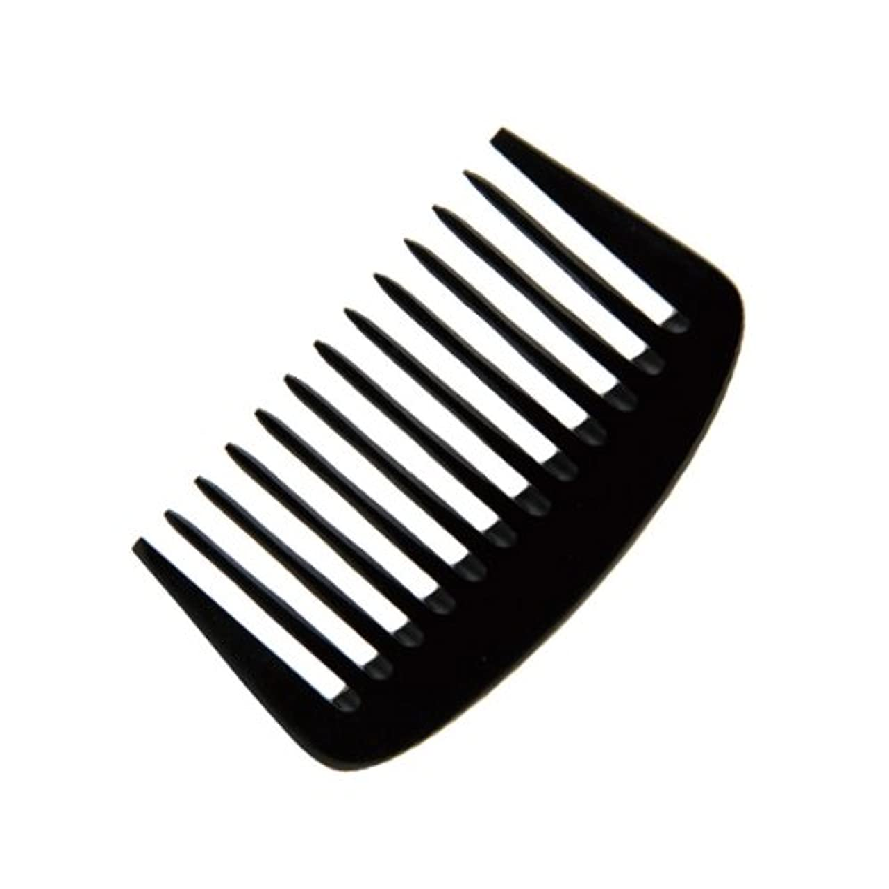 準拠伝染病新鮮なエトゥベラ e-ーフムーンコーム K-8010 105mm (美容室用) 全2色ブラック