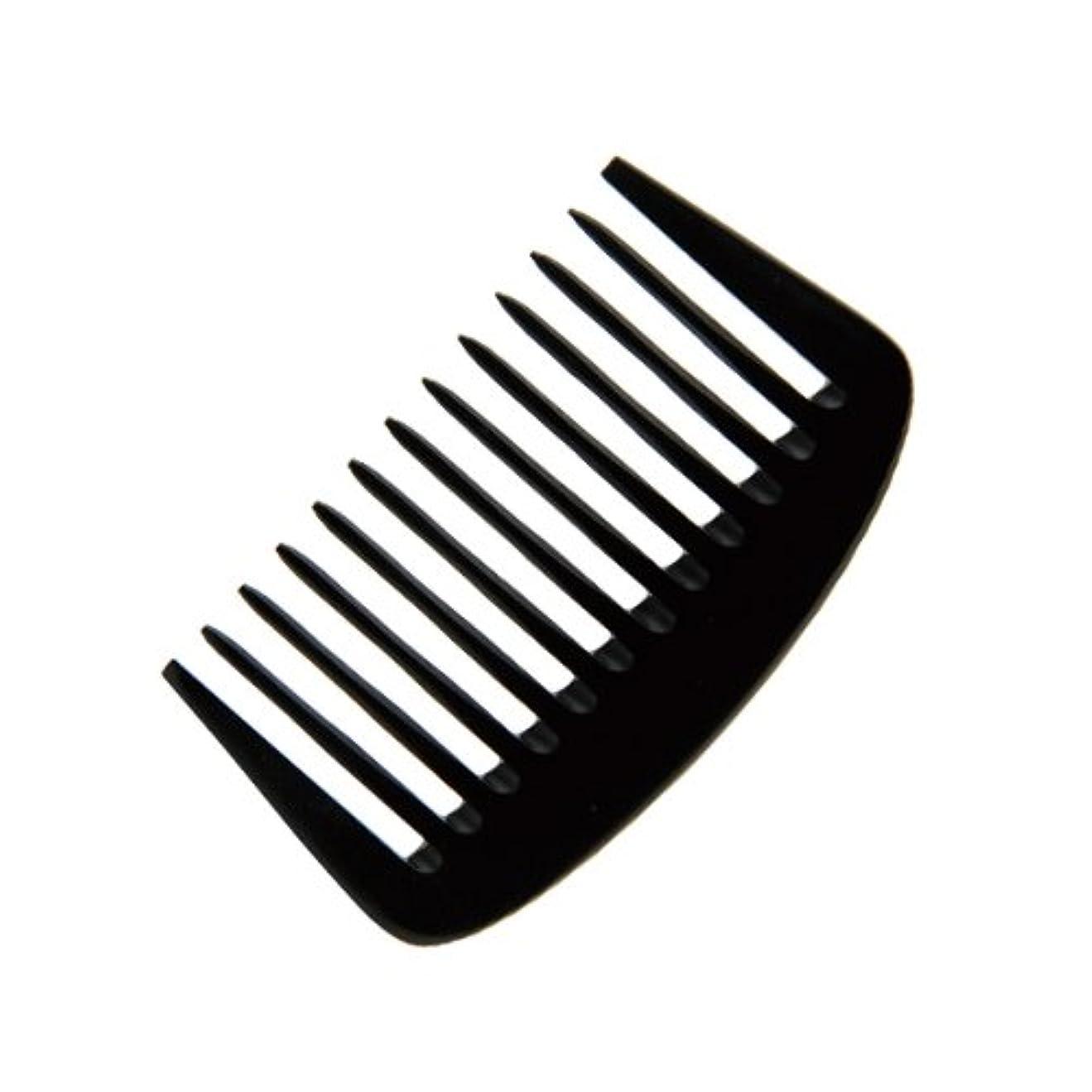 販売員注入する鼓舞するエトゥベラ e-ーフムーンコーム K-8010 105mm (美容室用) 全2色ブラック