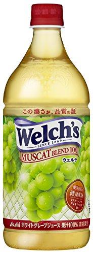 アサヒ飲料 Welch's(ウェルチ) マスカットブレンド100 800g×8本