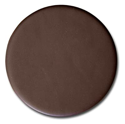 Dacasso Chocolate Brown Leatherette Coaster