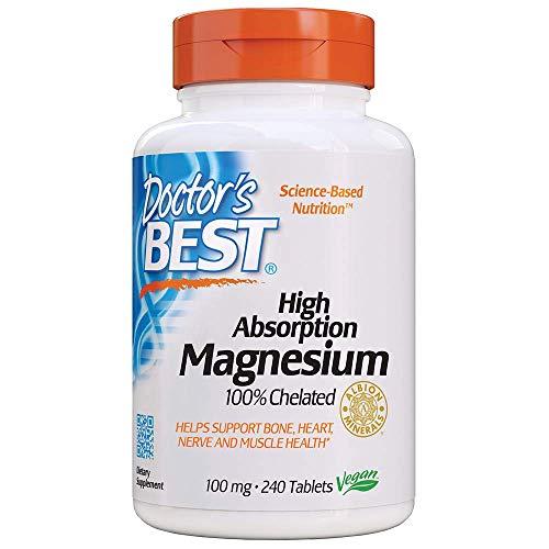 ドクターズベスト 高吸収型マグネシウム (マグネシウム200mg分) 240錠 [海外直送品]