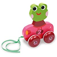 Vilac Pull Toy, Manon the Frog by Vilac [並行輸入品]