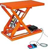 トラスコ テーブルリフト150kg(電動Bねじ式100V)520×630mm (HDLL1556V12)