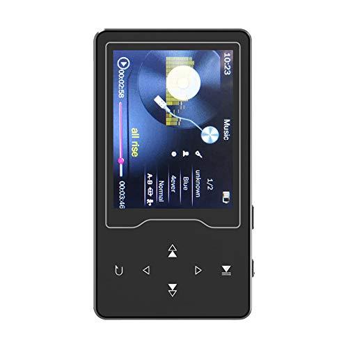 Docooler デジタルプレーヤー RUIZU D08 2.4インチ 8GB 音楽 ロスレス HiFi 高音質 ビデオ/FMラジオ/録音/電子書/TFカード/OTGなど対応 シルバー