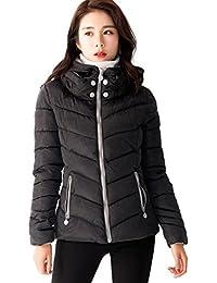 (リザウンド) ReSOUND レディース ダウンジャケット 冬物 ダウンコート フード パーカー 防寒 アウター 369