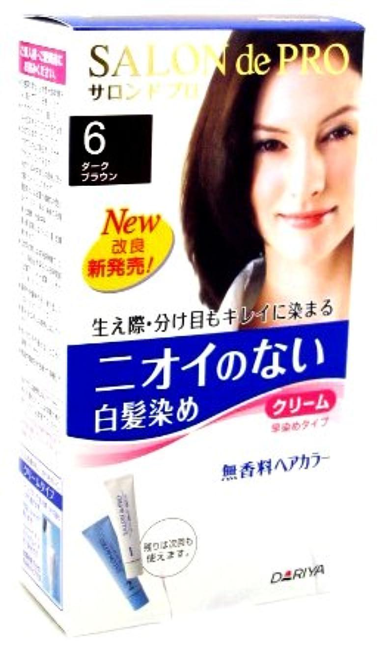 本質的ではないアグネスグレイ妨げるサロンドプロ 無香料ヘアカラー 早染めクリーム6 [医薬部外品]