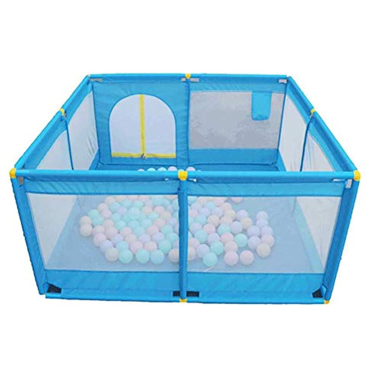 ベビーサークル ベビーベビーサークルは庭屋内キッズヤードベビーサークルアウトドア子供の安全フェンスブルーの幼児の遊び場を再生する再生します (サイズ さいず : Style-1)