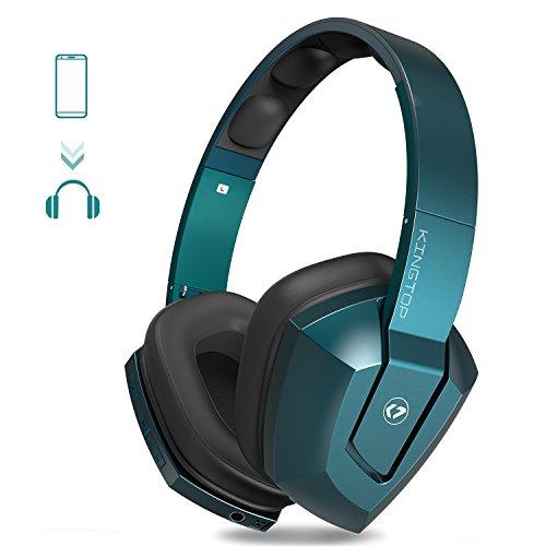 ワイヤレスヘッドセット KINGTOP ブルートゥース ヘッドホン K99 振動ユニット搭載 感動できる低音 Bluetooth & 有線対応可 日本語説明書付